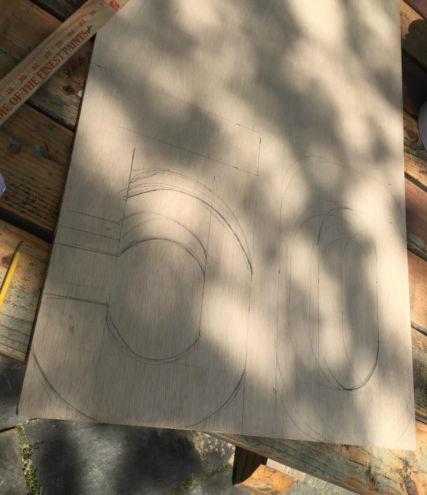 cut out wood numbers