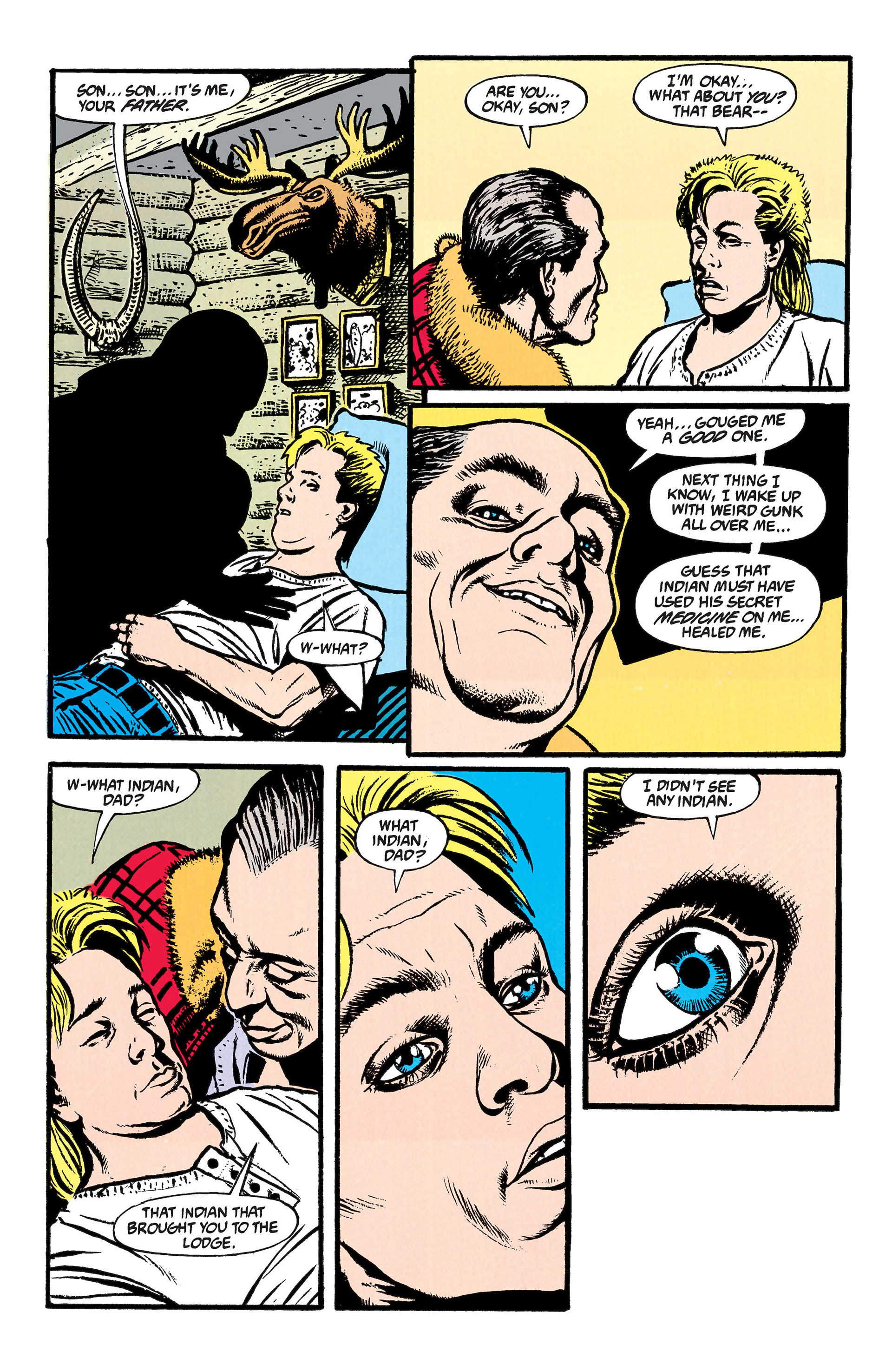 Read online Animal Man (1988) comic -  Issue #46 - 22