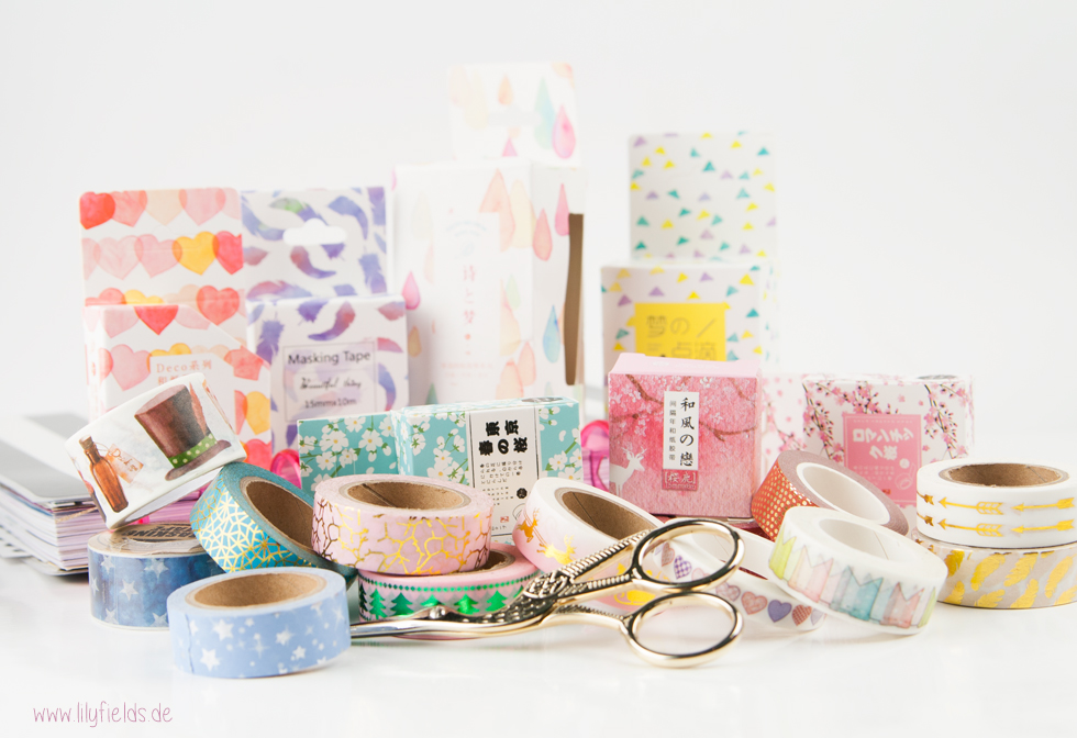 Aliexpress Haul - Washi Tapes