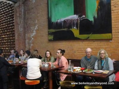 interior of The Market Bar restaurant in Dublin, Ireland