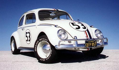 Herbie A Toda Marcha: Fusca Branco: Fusca Branco