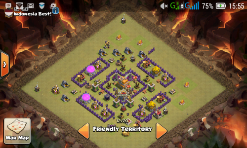 base th 7 dengan 3 air defense