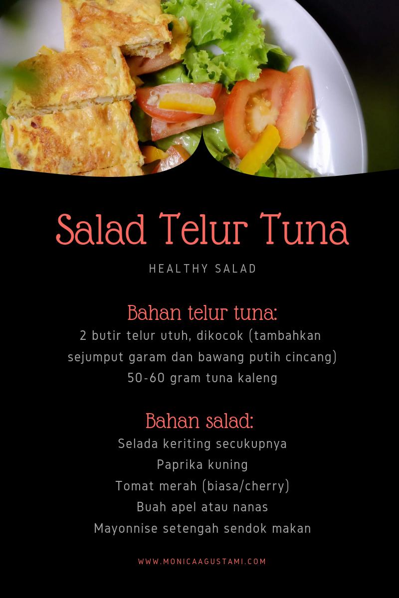 resep salad telur tuna