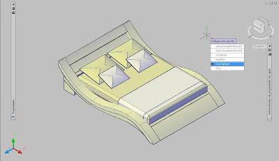 Representación de modelado 3D con AutoCAD