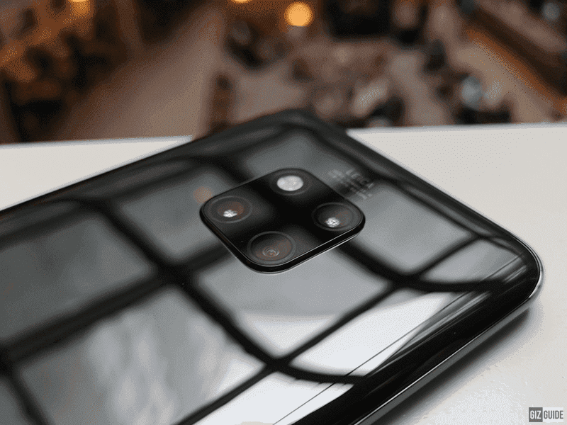 Huawei Mate 20 Pro has a triple Leica camera setup
