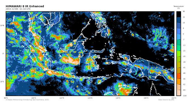 Aceh Masih Berpotensi Hujan