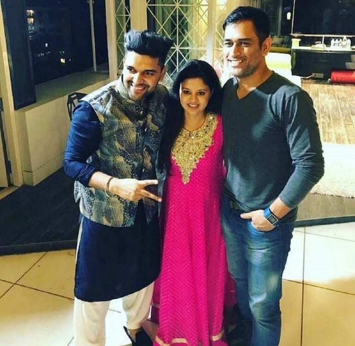 MS Dhoni Celebrated Diwali In The Most Stylish Way As He Partied With Punjabi Singer Guru Randhawa Onlinelatesttrends