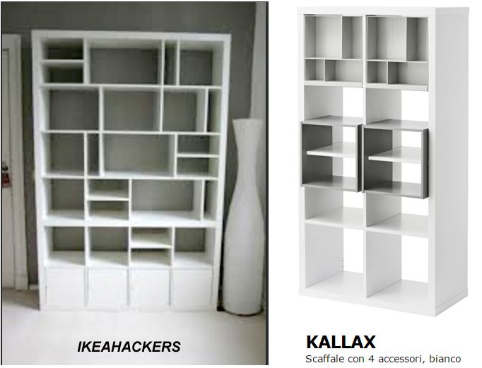 Ikeahackers and eket home shaped - Kallax 8 cases ...
