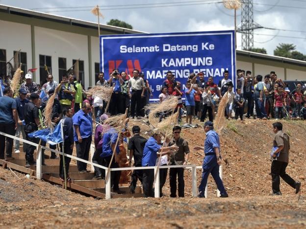 Najib Nafi Kaum Penan Mundur Di Bawah Pemerintahan BN