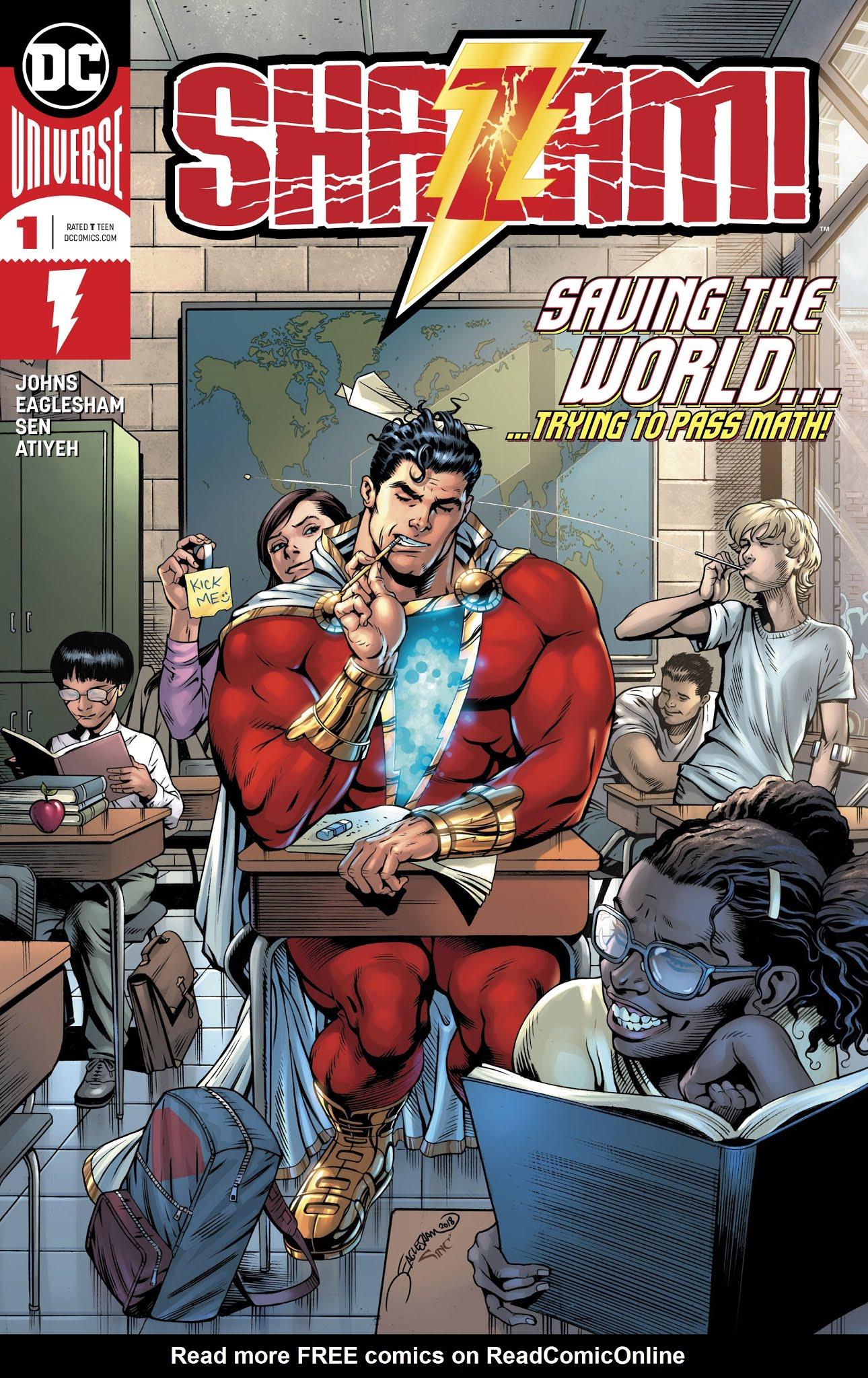 Shazam! (2019) #1 #8 - English 1