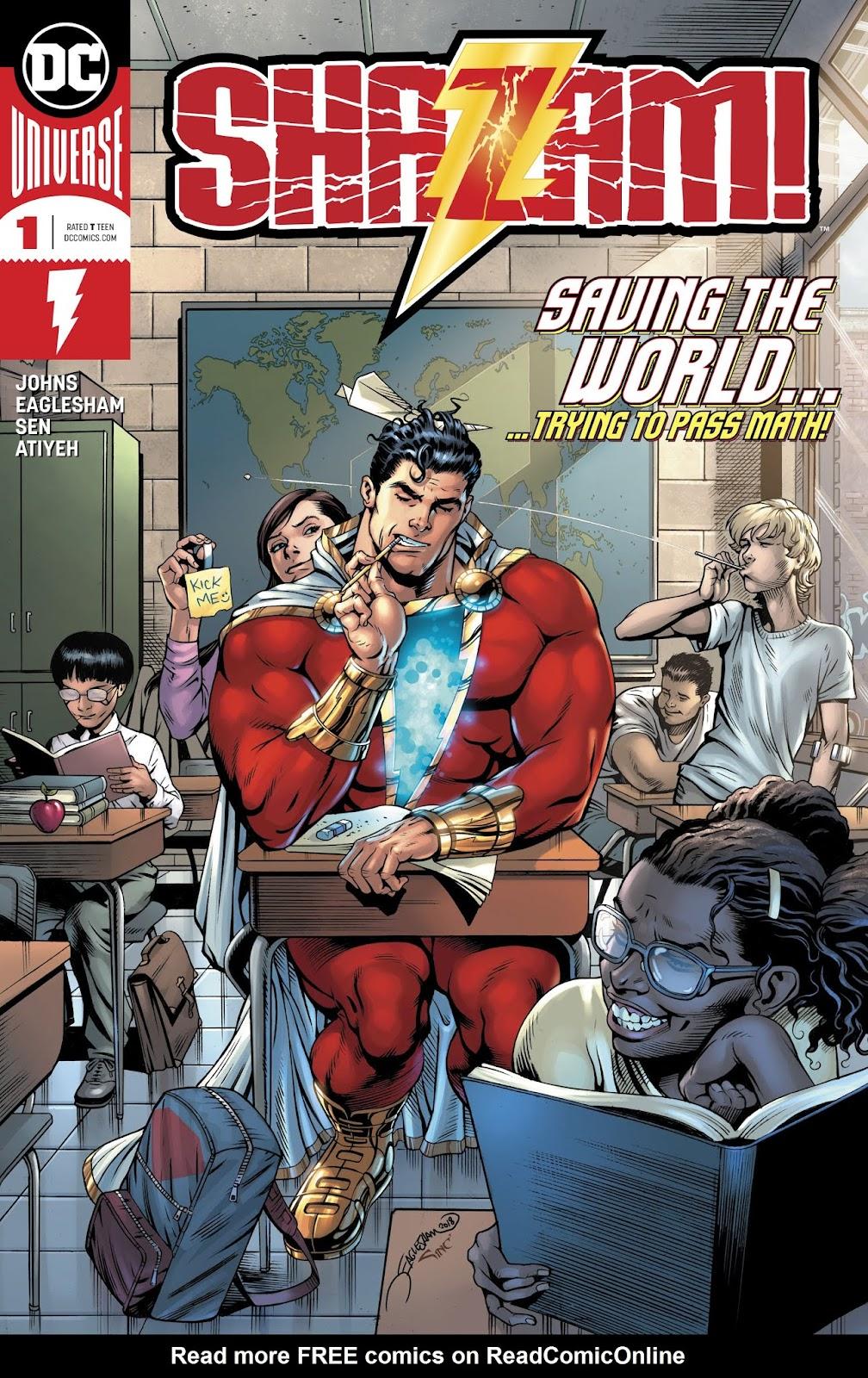 Shazam! (2019) issue 1 - Page 1