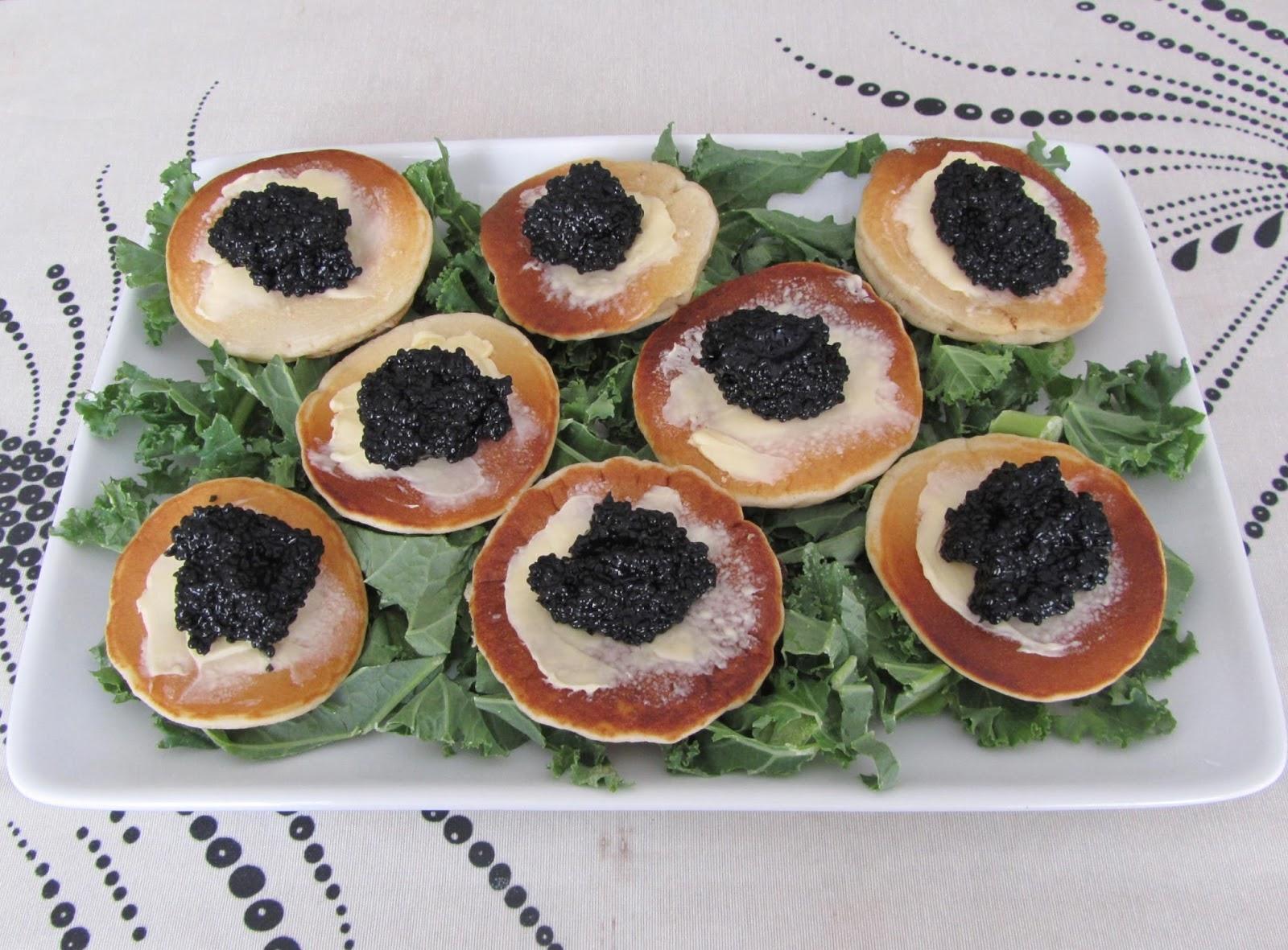 Cocina con luz verde tres aperitivos f ciles caviar for Canape de caviar