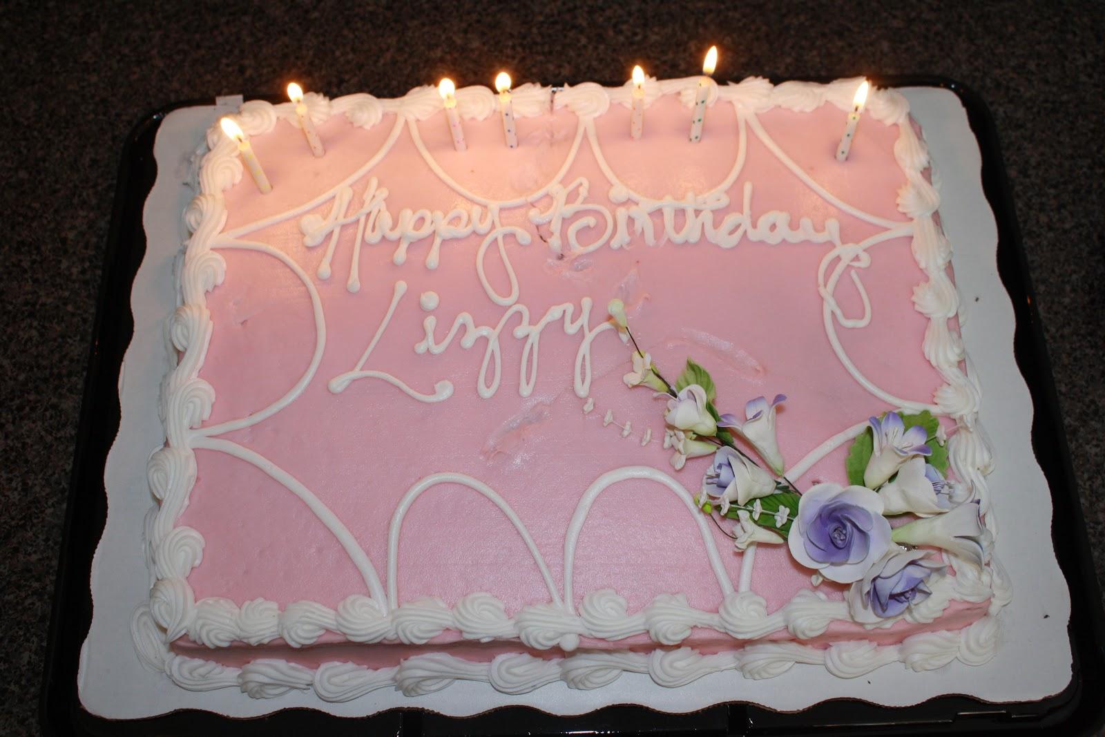 Carolina Blue Happy Birthday Lizzy