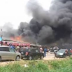 Gas Explosion Burns Down House, Cars In Surulere, Lagos