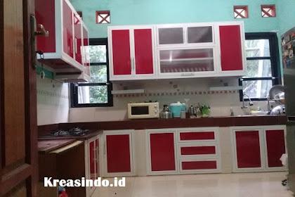 Kitchen set Aluminium dan Kusen Aluminium pesanan Bpk Ihzar di Pondok Terong Cipayung Depok