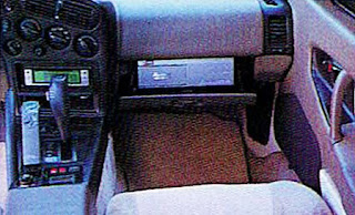 Picture of Chuck Barbosa's award winning red Plymouth Laser's interior