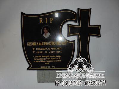 Model Kuburan Kristen Minimalis