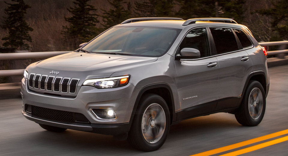 This is the redesigned 2019 Jeep Cherokee