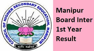 Manipur Board Inter 1st Year Result 2017