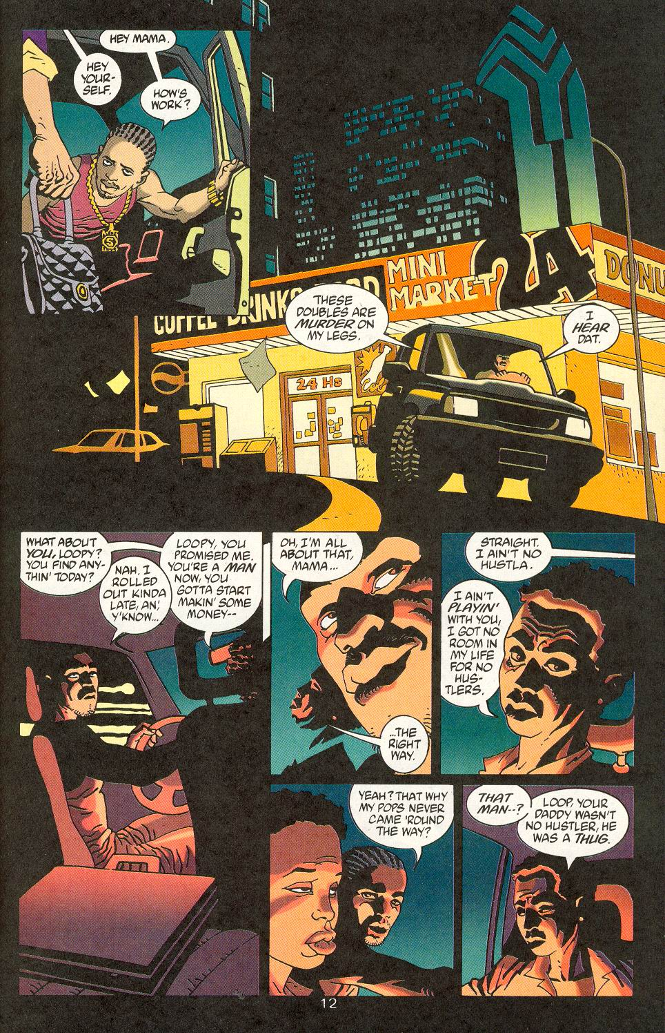 Read online 100 Bullets comic -  Issue #15 - 14