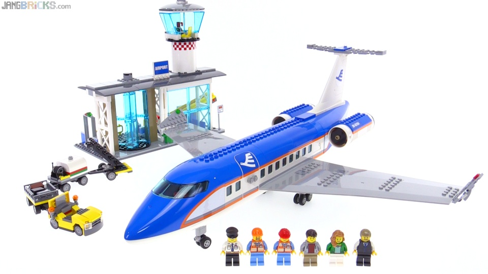 Lego City Airport Passenger Terminal Review 60104