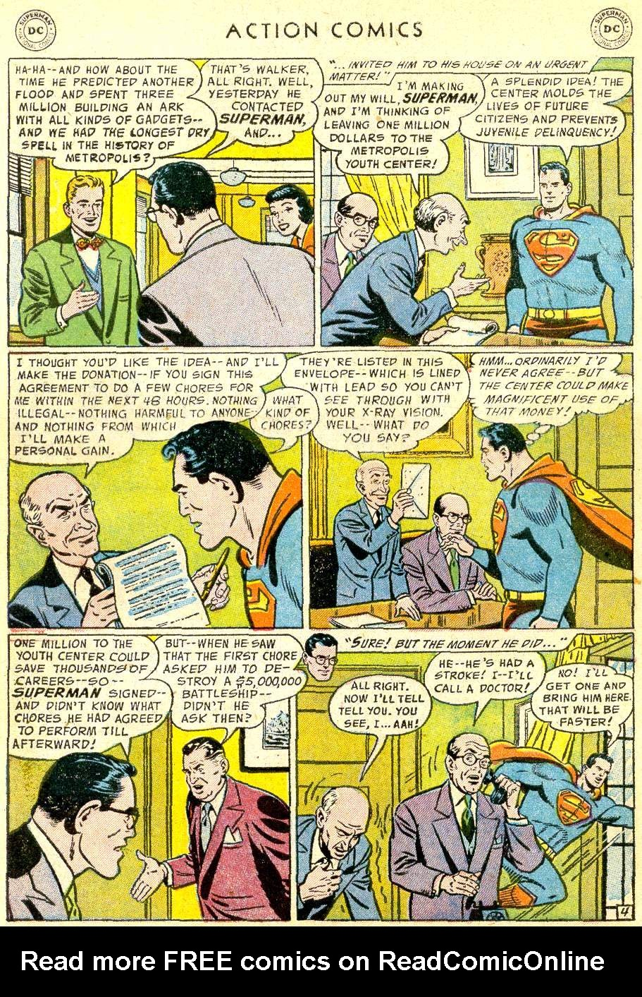 Action Comics (1938) 214 Page 5