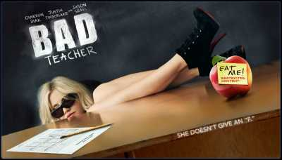 18+ Bad Teacher (2011) Hindi Dubbed Dual Audio Movie BluRay