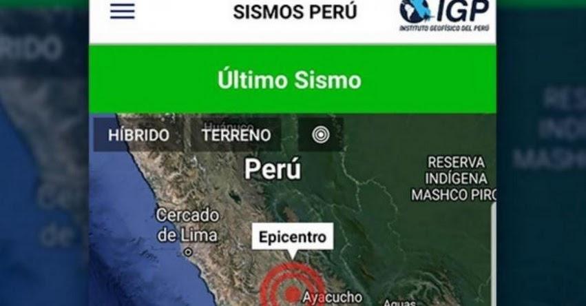 IGP reporta 10 sismos en Huancavelica en menos de 72 horas