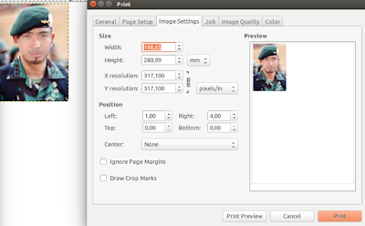 Image settings print GIMP
