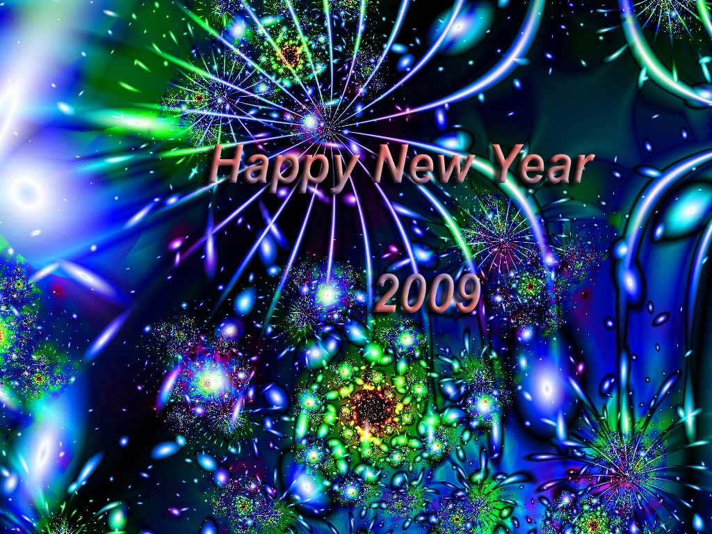 Wallpapers For New Year And Christmas. 1024 x 768.Happy New Years Screensaver