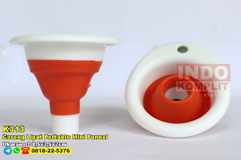 Corong Lipat Portable Mini Funnel