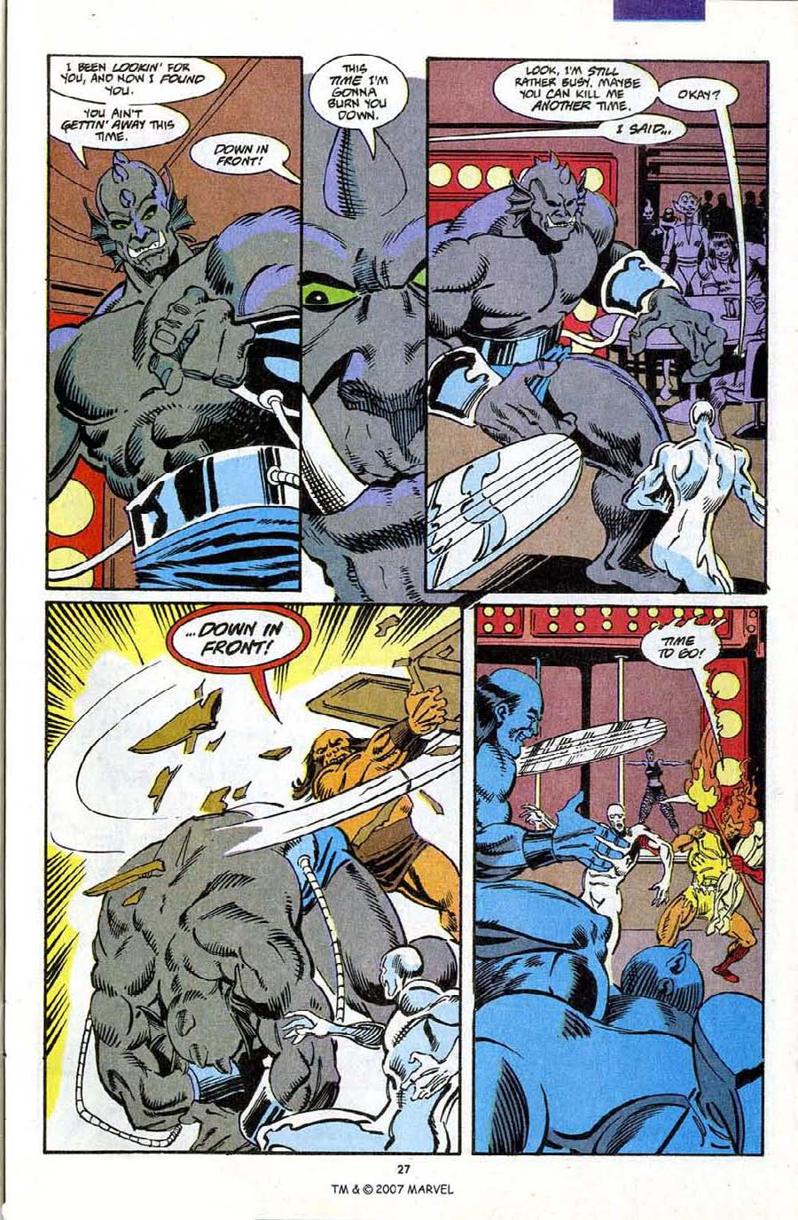 Read online Silver Surfer (1987) comic -  Issue #72 - 29