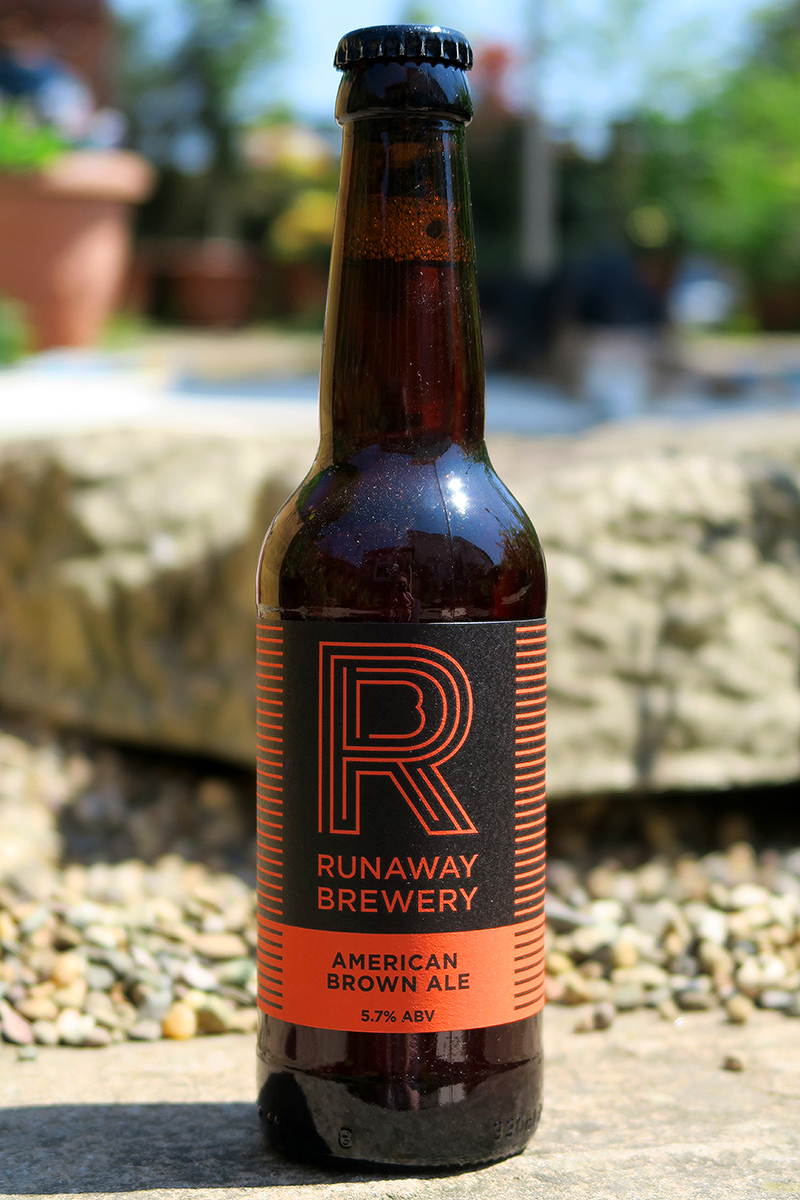 Runaway Brewery American Brown Ale from The Beer Isle June Subscription Box - North West England