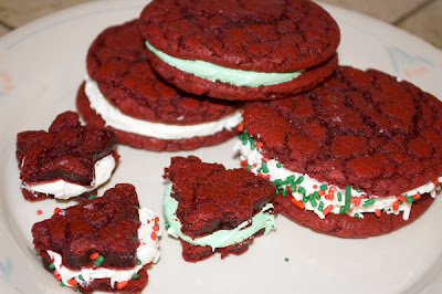 Red Velvet Cookies by DeDe Smith
