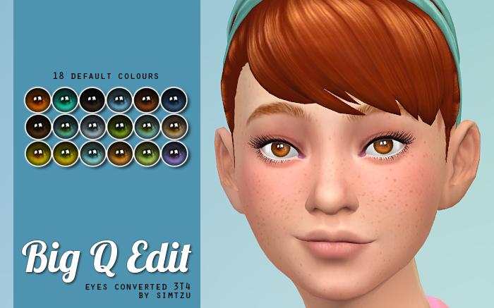 Maxis Match Sims 4 Cc Eyes - 0425