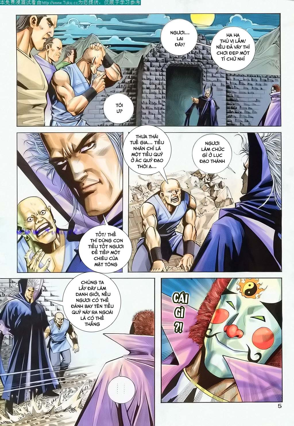 Bá Đao Chap 122 - Truyen.Chap.VN