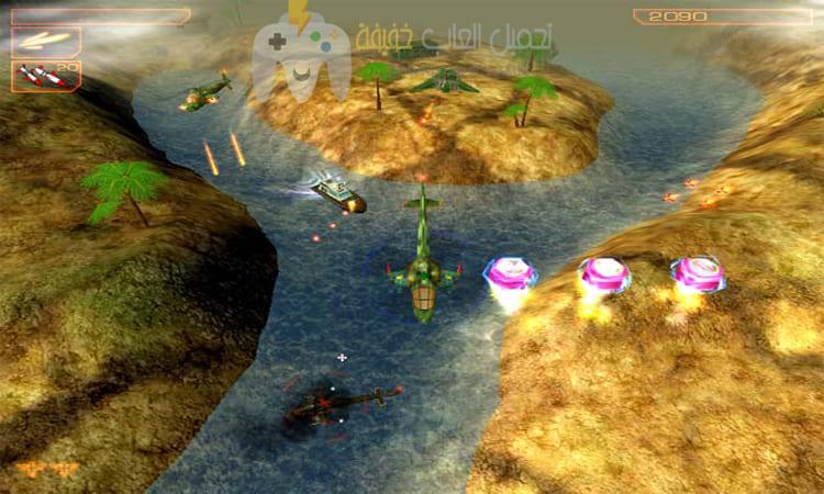 تحميل لعبة حرب الهليكوبتر Helicopter Wars للكمبيوتر