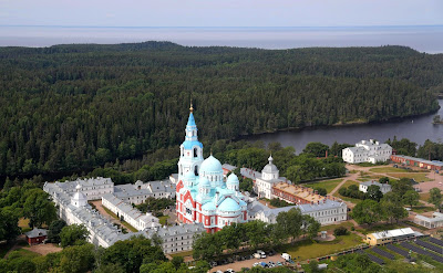 The Transfiguration of the Saviour Patriarchal Monastery on Valaam.
