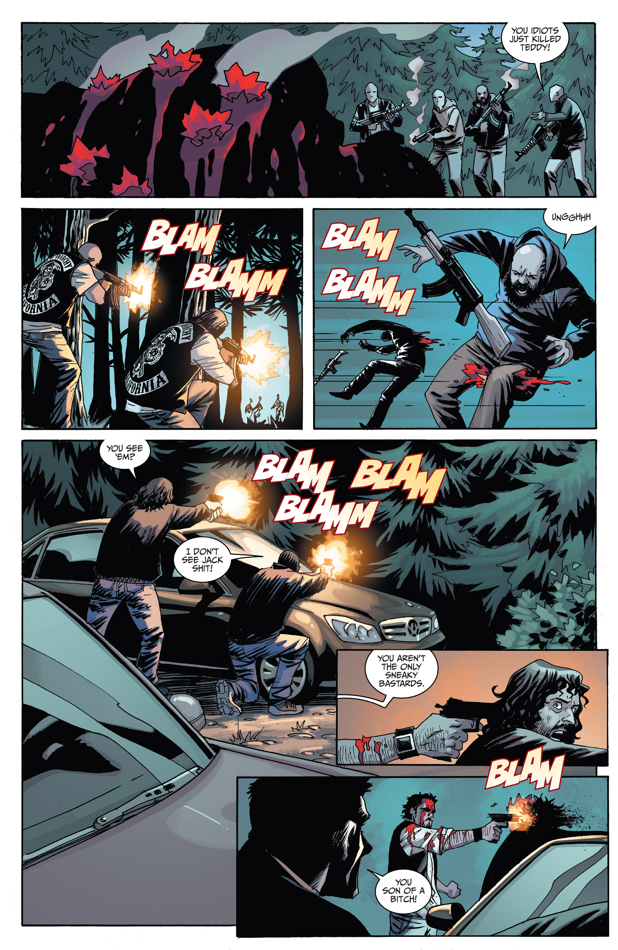 Read online Sons of Anarchy comic -  Issue #6 - 10