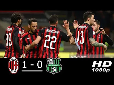 AC Milan vs Sassuolo 1-0 Extended Match Highlights 02/03/2019