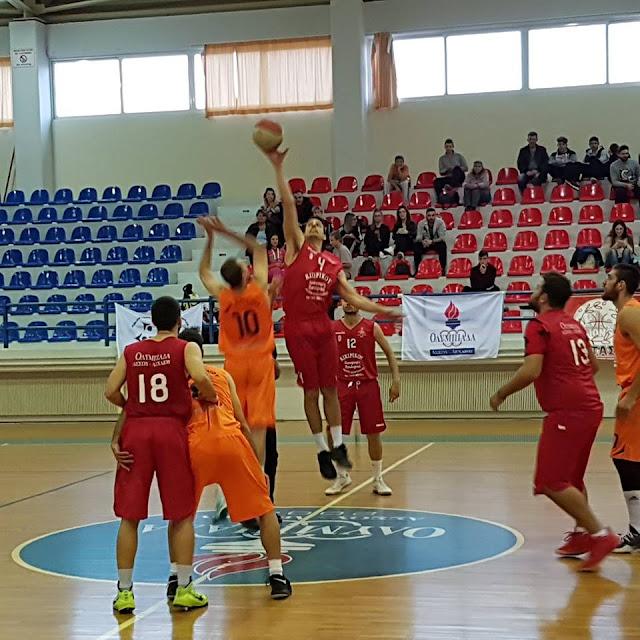 Μεγάλη νίκη του Οίακα 36-96 εκτός έδρας την  Ολυμπιάδα Άσσου Λεχαίου
