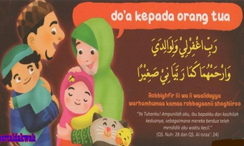 Bacaan Doa Mohon Ampunan Dosa Untuk Orang Tua
