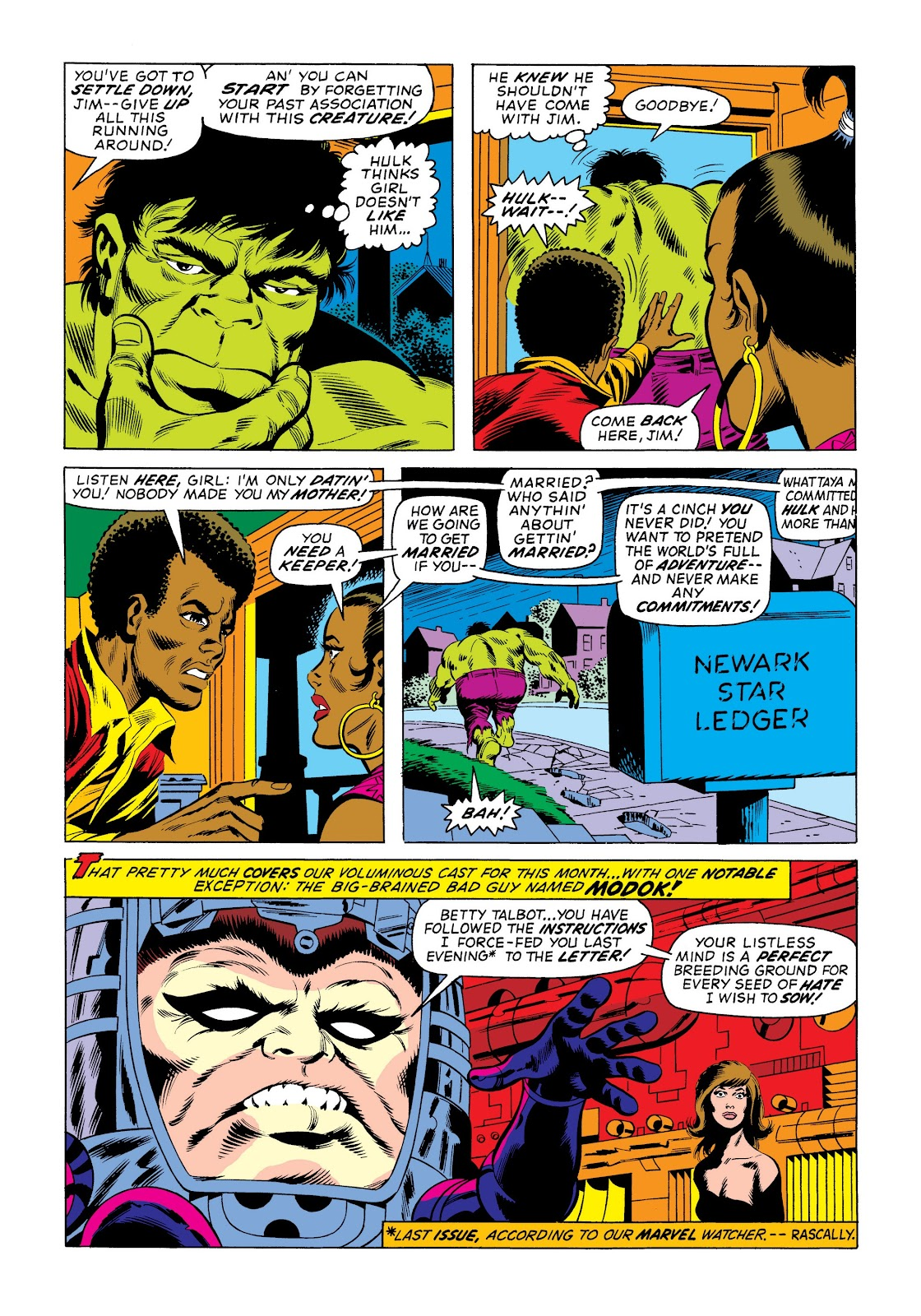Read online Marvel Masterworks: The Incredible Hulk comic -  Issue # TPB 9 (Part 3) - 46