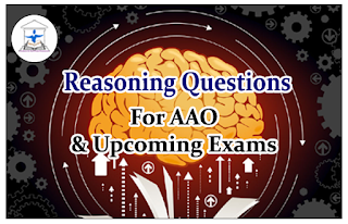 Reasoning Questions (Inequality) for AAO and upcoming Exams 2016