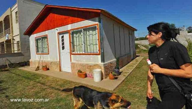 Casa americana prefabricada económica en Argentina