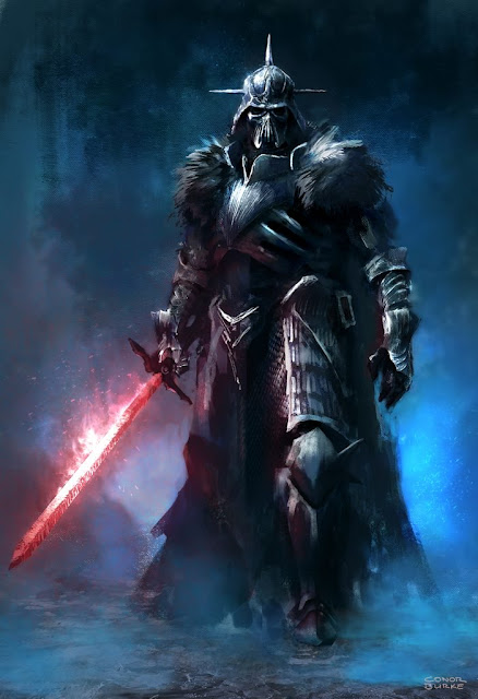 Darth Vader (Star Wars), por Conor Burker