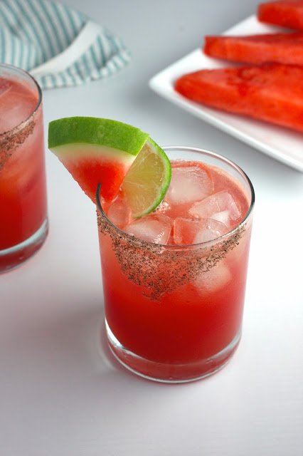 Spicy Sandia Mocktail