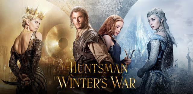 branca de neve caçador 2 caçador rainha do gelo elenco charlize theron chris hemstworth thor emily blunt chastain