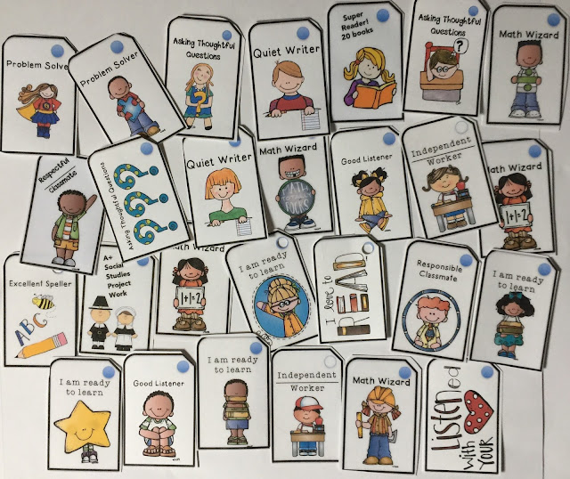 brag tags, MrsQuimbyReads, teaching resources, student behavior, classroom mangement