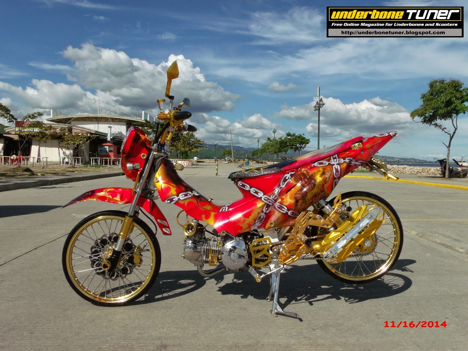 xrm 125 modification underbone tuner modified honda xrm125 ...
